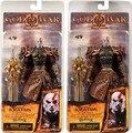 """7.5 """"neca god of war kratos em golden fleece armadura com Medusa Cabeça PVC Action Figure Model Collection Toy Frete Grátis 1 Pcs"""