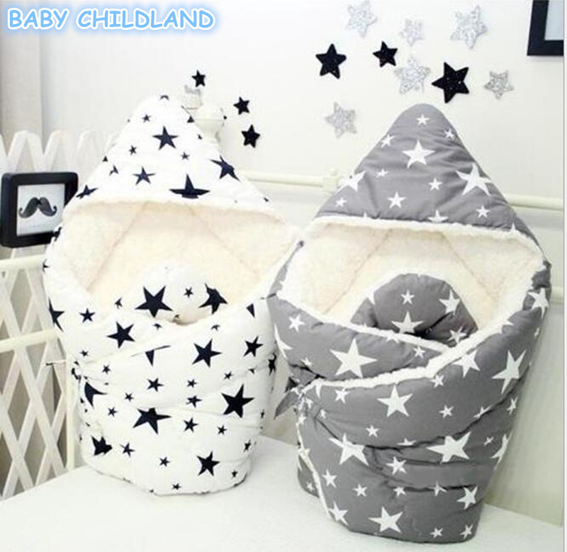 Newborn Baby Swaddle Wrap Blanket Baby Swaddle Bags Cotton Infant Baby Receiving Blankets Baby Envelope Sleeping Bags Blanket