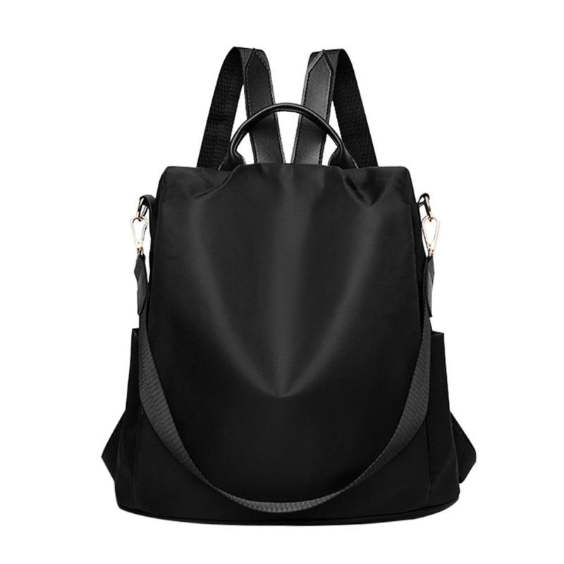 HTB1L0vQNXzqK1RjSZFvq6AB7VXaY Fashion Oxford Women Anti-theft Backpack High Quality School Bag For Women Multifunctional Travel Bags
