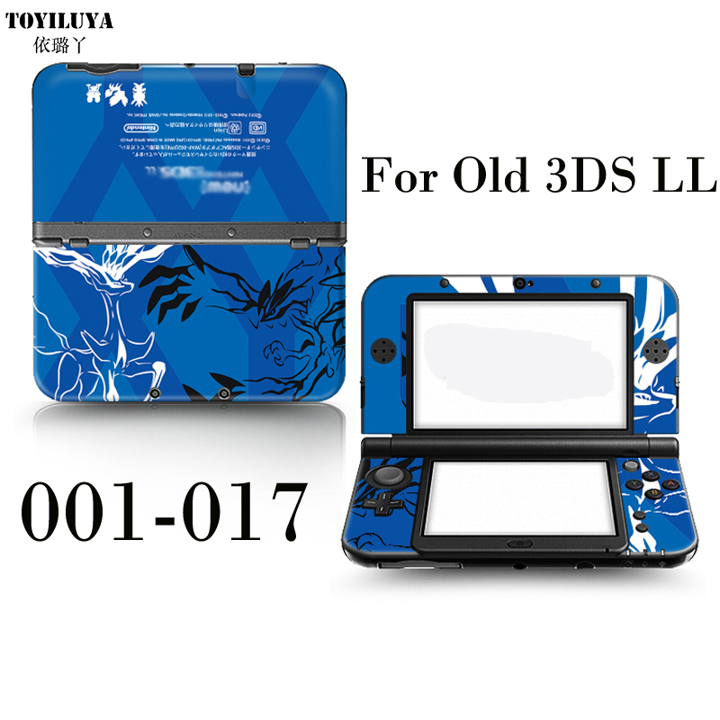 Kumamoto Stick Gamepad-Skin Protector Cover Plates or Pokemon For Old 3DS XL LL Sticker / Old 3DS XL LL Stiker