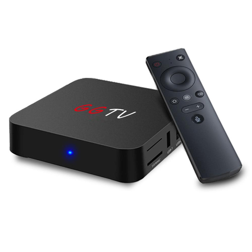 GGTV 4GB RAM 32GB ROM Android 7.1 TV Box RK3328 Quad Core 2.4GHz WiFi Smart Set-top Box HDR 4K Voice Control Media Player цена 2017