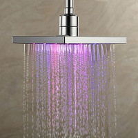 HOT Home Storage Colorful Head Home Bathroom 7 Colors Changing LED Shower Faucet Water Glow Light Shower Tool Dropshiping Q3