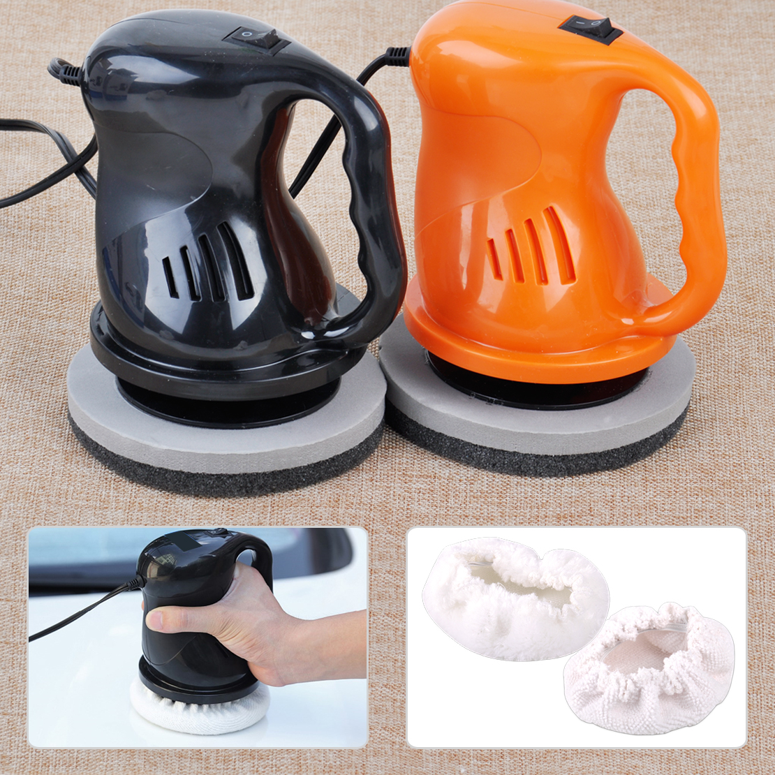 Citall 12v 40w electric car polishing buffing waxing machine home outdoor waxer polisher china