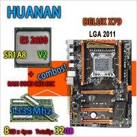 HUANAN Golden Deluxe Version X79 Gaming Motherboard LGA 2011 ATX Combos E5 2650 V2 SR1A8 4