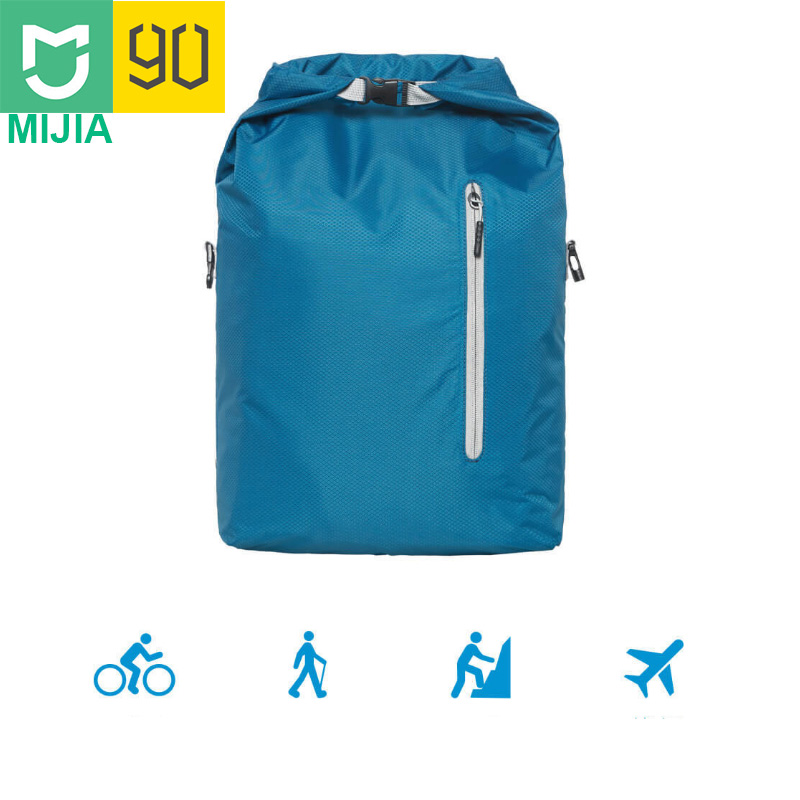 Video Games Xiaomi Mijia Youpin Fashion Dupont Paper Street Fitness Bag Sport Leisure Backpack Shoulder Bag Waterproof Large Capacity