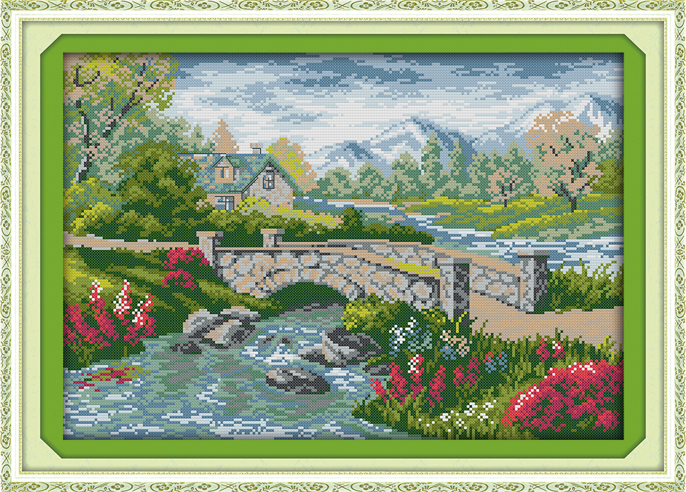A Small Bridge Over The Flowing Stream 3 Kits For