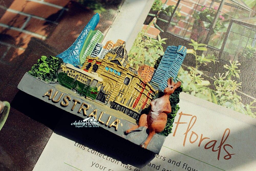 US $6 99 |Australia Melbourne Kangaroo Tourist Travel Souvenir 3D Resin  Decorative Fridge Magnet GIFT IDEA-in Fridge Magnets from Home & Garden on