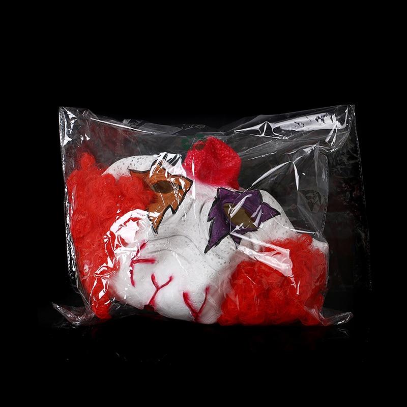 H & D Red Nose Clown Mask Circus Scary Killer Halloween Horror Latex - Barang-barang untuk cuti dan pihak - Foto 6