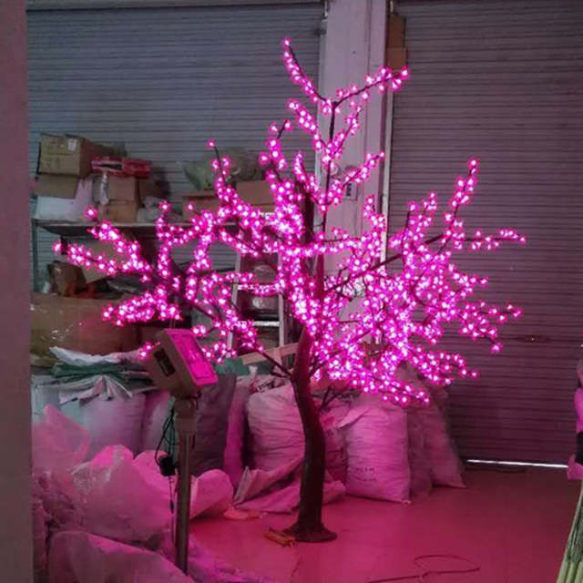 Us 665 0 H 2m Pink Christmas Outdoor Led Tree Lights Outdoor Waterproof In Holiday Lighting From Lights Lighting On Aliexpress Com Alibaba Group