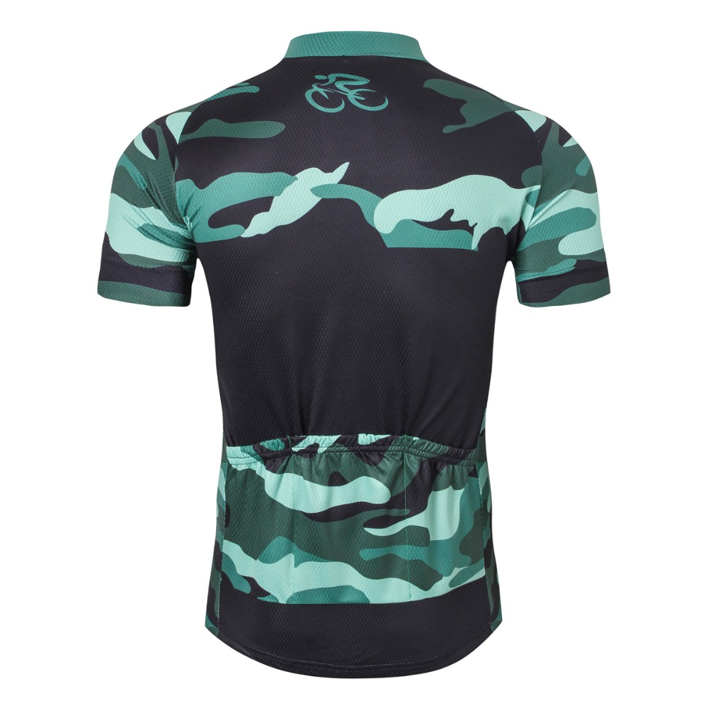 b3b578dac 2018 Team Camouflage Green Cycling Jersey Tops Pro Racing Cycling Clothing  Ropa Ciclismo mtb Bicycle Sportswear Cycling Clothes-in Cycling Jerseys  from ...