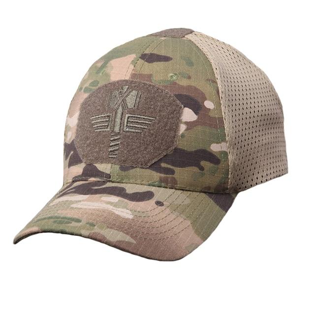 Táctico militar de las fuerzas especiales de CS camuflaje Gorras soldado  francotirador Snapback de malla sombreros a5a997c2a6c