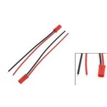 Лучшие продажи 10 Шт. 2Pin JST Штекер 22AWG Провода Кабеля 100 мм Длинные для RC Модель Самолета Автомобиля
