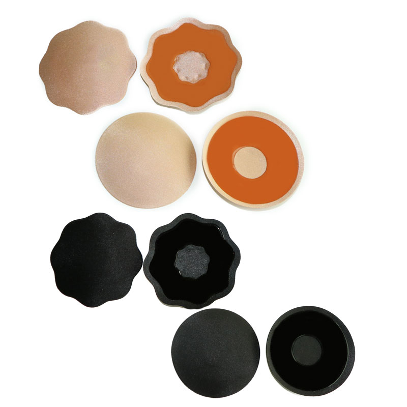 5b2145c8a06 1pairInvisible Self Adhesive Silicone Bra Breast Pasties Nipple Covers Stick  On Bra Pasties Pad Petal Mat Stickers Nipples Woman-in intimates   accessories ...