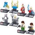 8 unids tom cat ultraman building blocks mini juguetes figura ladrillos juguetes figura de acción juguetes para los niños figuras