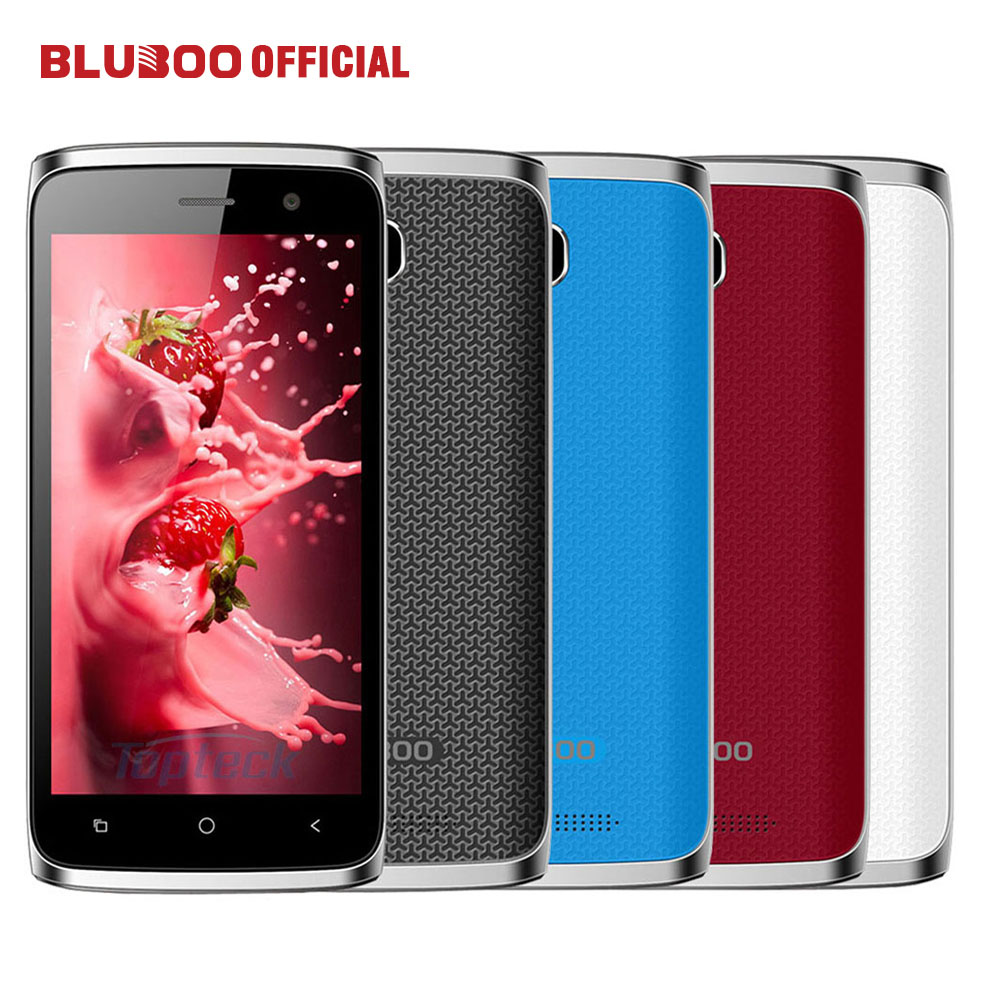 BLUBOO Mini 4 5 HD 3G WCDMA Smartphone MTK6580 Quad Core 1 3GHz 1GB RAM 8GB