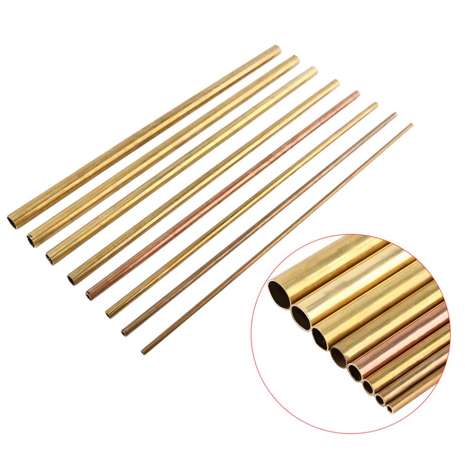 Image 4 - Brass Tube Pipes Round Outer Diameter 2/8/10/12/14/16/18/20 mm Length 50cm Long 1mm Wall Brass Pipe Brass Tube Cutting Tool-in Tool Parts from Tools