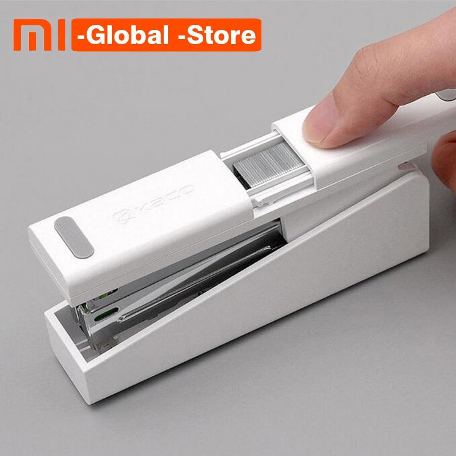 цена на Xiaomi Mijia Kaco LEMO Stapler 24/6 26/6 with 100pcs Staples For Paper Office School Mijia Smart Home Kit Stapler and Staples