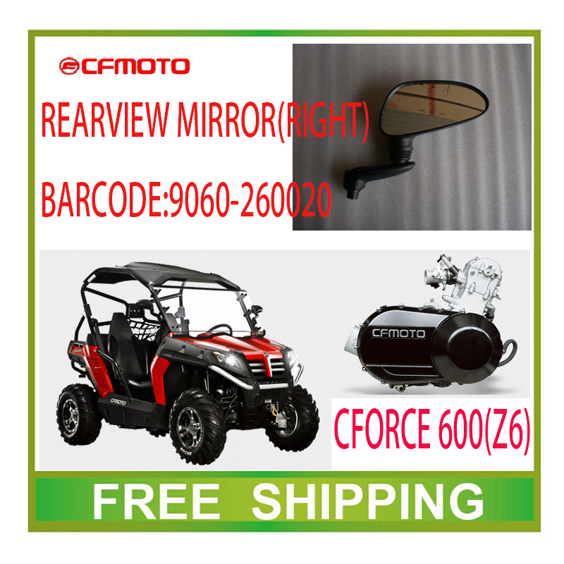 CFMOTO CF MOTO right REARVIEW left mirror 600CC z6 ATV UTV accessories free shipping