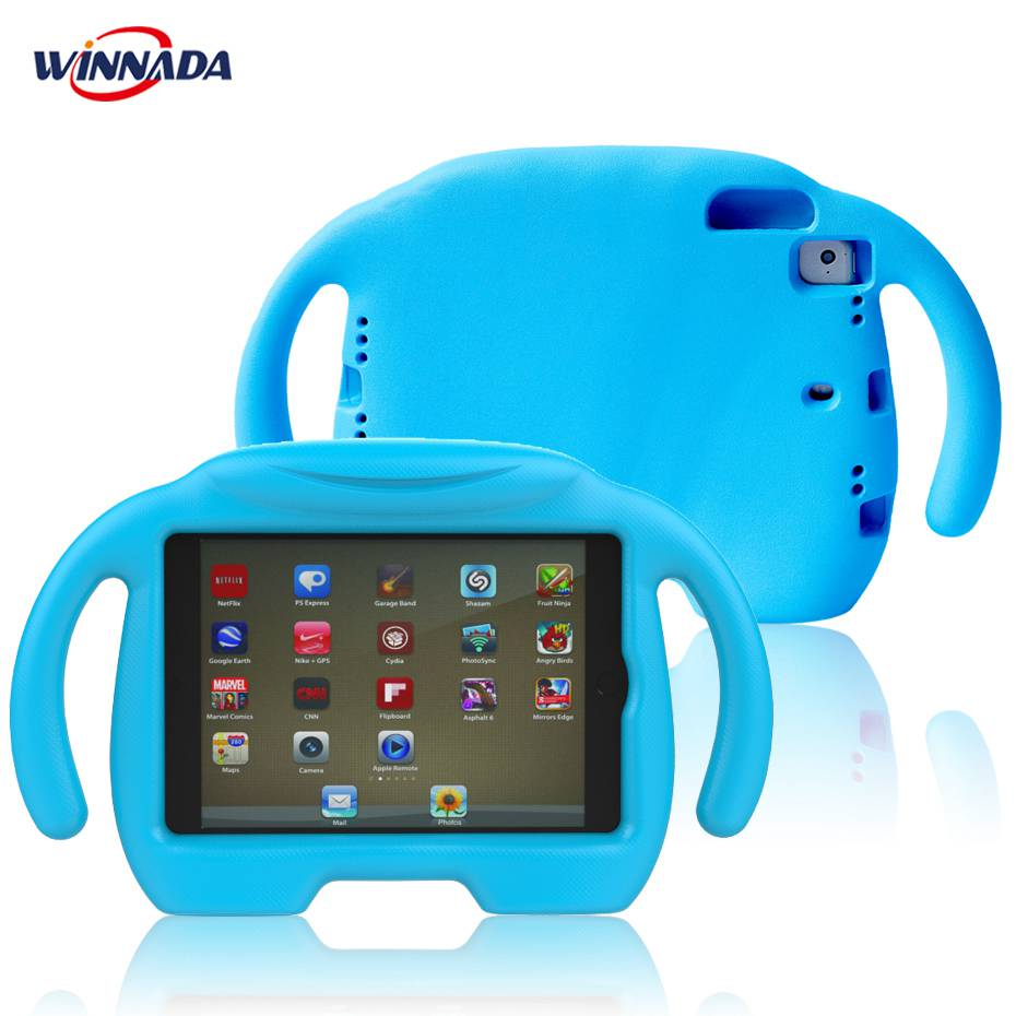 For ipad mini case Shock Proof Friendly Non-toxic EVA Foam full body stand cover Kids Children Safe for ipad mini 1 2 3 4 case