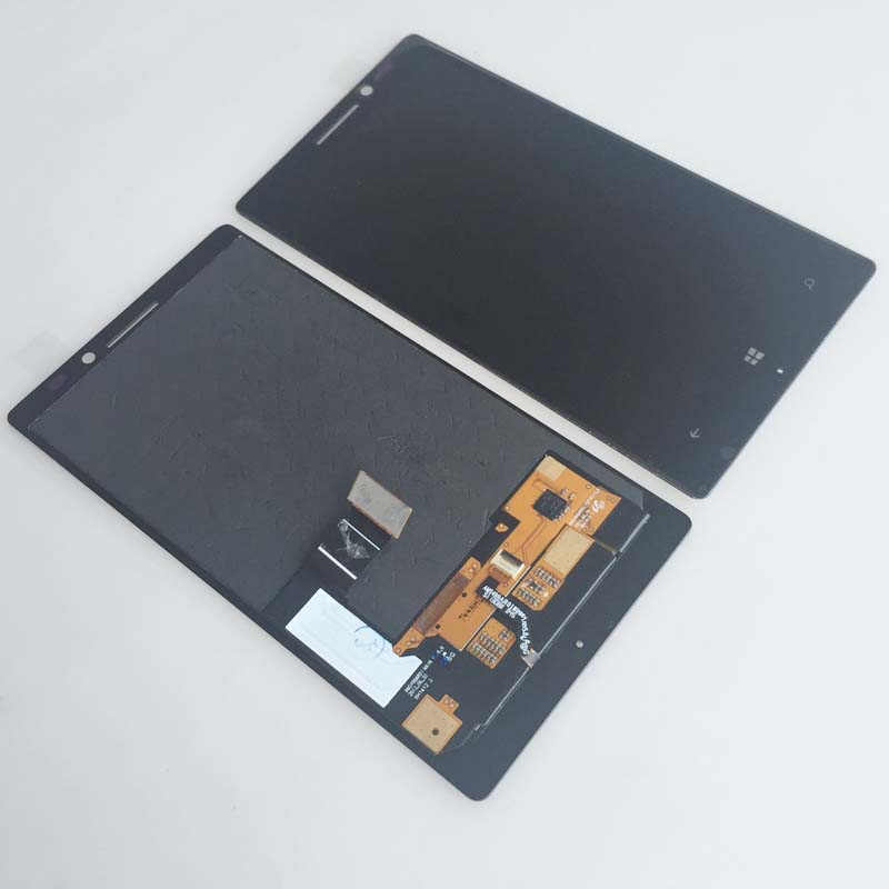 Подробнее о New Black Touch Digitizer Glass LCD Display Screen Assembly For Nokia Lumia 930 Replacement new full black touch digitizer glass lcd display screen assembly with frame for nokia lumia 630 replacement