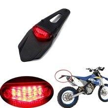 Для KTM CR отл WRF 250 400 426 450 Полуспорт мотоциклетные светодиодный фонарь и заднее крыло остановить ENDURO задний фонарь MX Trail Супермото
