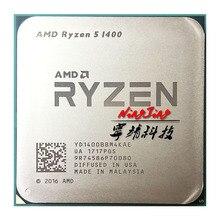 AMD Ryzen 5 1400 R5 1400 3.2 GHz Quad Core CPU YD1400BBM4KAEซ็อกเก็ตAM4