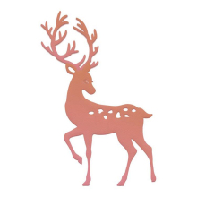 YaMinSanNiO Christmas Metal Cutting Dies Deer Scrapbooking Craft Winter Embossing Stencil Card Decoration