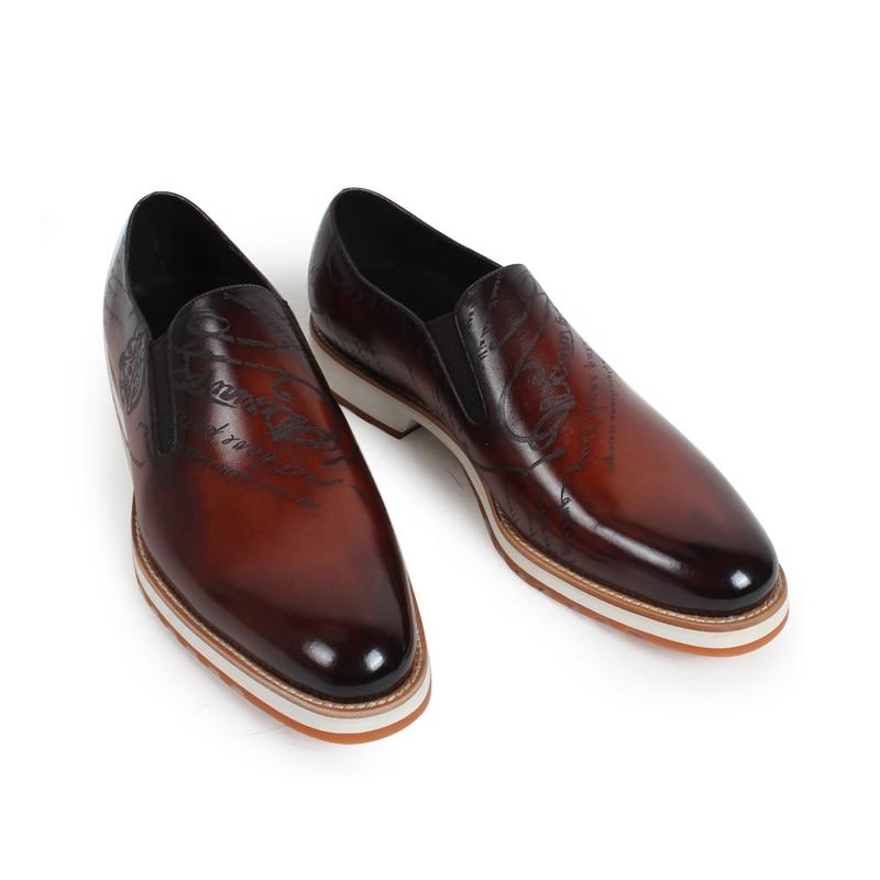 2019 vikeduo 핸드 메이드 핫 남성 로퍼 신발 100% 정품 가죽 패션 럭셔리 인과 파티 드레스 젊은 남자 원래 디자인-에서남성용 캐주얼 신발부터 신발 의  그룹 2