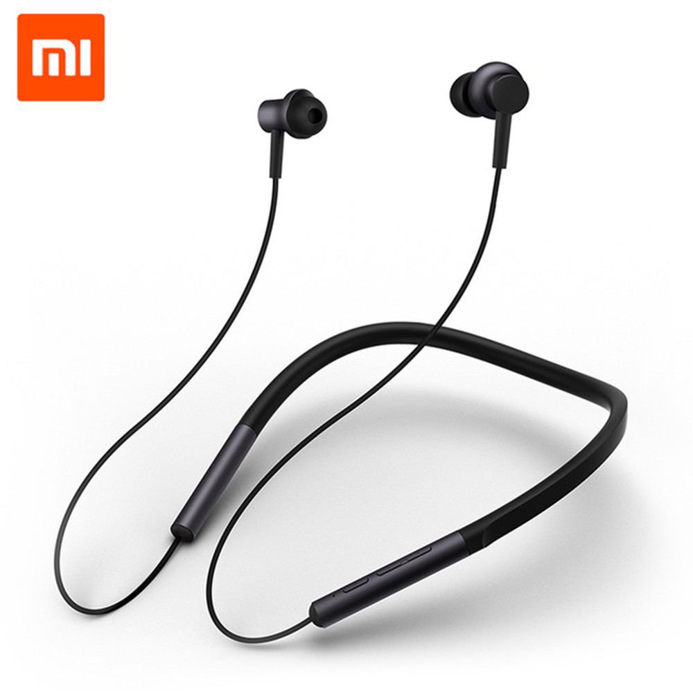 Xiaomi Bluetooth Earphone Headset Sport Wireless Bluetooth Headphone Ear Hook Magnetic Microphone Dual Dynamic Headphone Earbud khp t6s bluetooth earphone headphone for iphone sony wireless headphone bluetooth headphones headset gaming cordless microphone