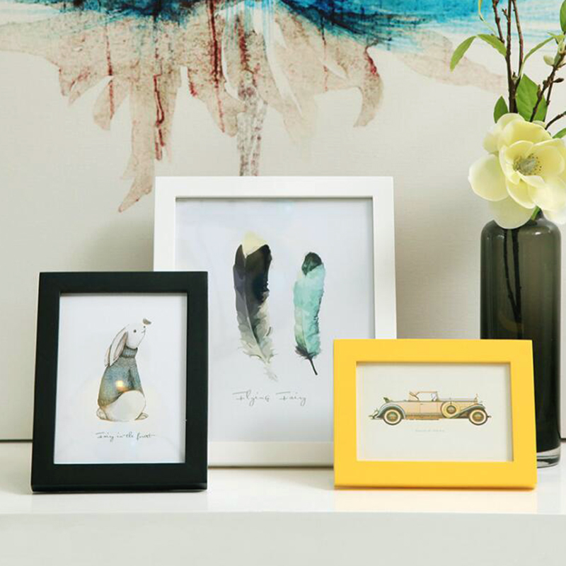 Buy 7 Size Frame Photo Picture Frame Wedding Photo Gift Home ...