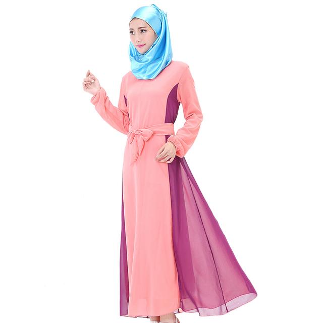 Vestido tradicional de la india pakistán ropa turquía ropa islámica del jilbab abaya musulmán para las mujeres vestido de oración islámica