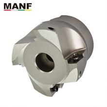 Манф высокая подача торцевая фреза, AHUB вставляется с боковым резцом, торцевая фреза для JDMT150508R твердосплавные пластины машина металлического размалывания производство Китай фрезы