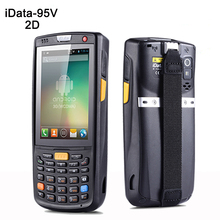 3.5 inch handheld data thermal 4G wireless Android 1D,2D laser barcode scanner POS data collector PDA with bluetooth, Wifi,GPS
