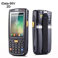 3.5 inç el veri termal 4G kablosuz Android 1D  2D lazer barkod tarayıcı POS veri toplayıcı PDA bluetooth  Wifi  GPS