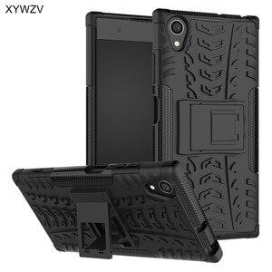Image 1 - sFor Coque Sony Xperia XA1 Plus Case Shockproof Silicone Phone Case For Sony Xperia XA1 Plus Cover For Xperia XA 1 Plus Shell