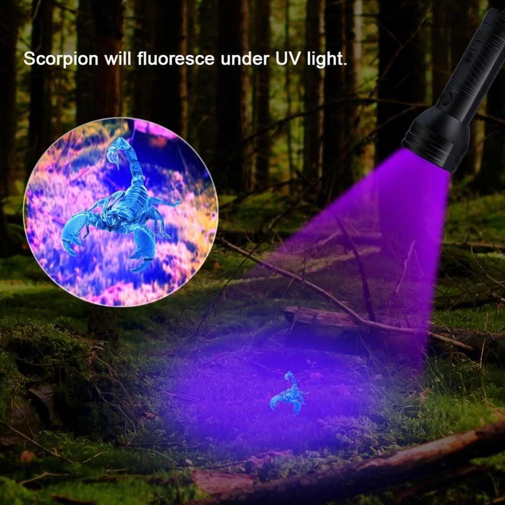 UV פנס שחור אור, 51 LED 395 ננומטר אולטרה סגול לפיד Blacklight גלאי עבור כלב שתן, כתמים לחיות מחמד באג מיטת