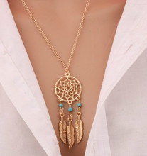 A Unique Design Hot Retro Dream Catcher Pendant Necklace Popular Specialty Chain Necklace Women Necklace Jewelry Fine Style 4