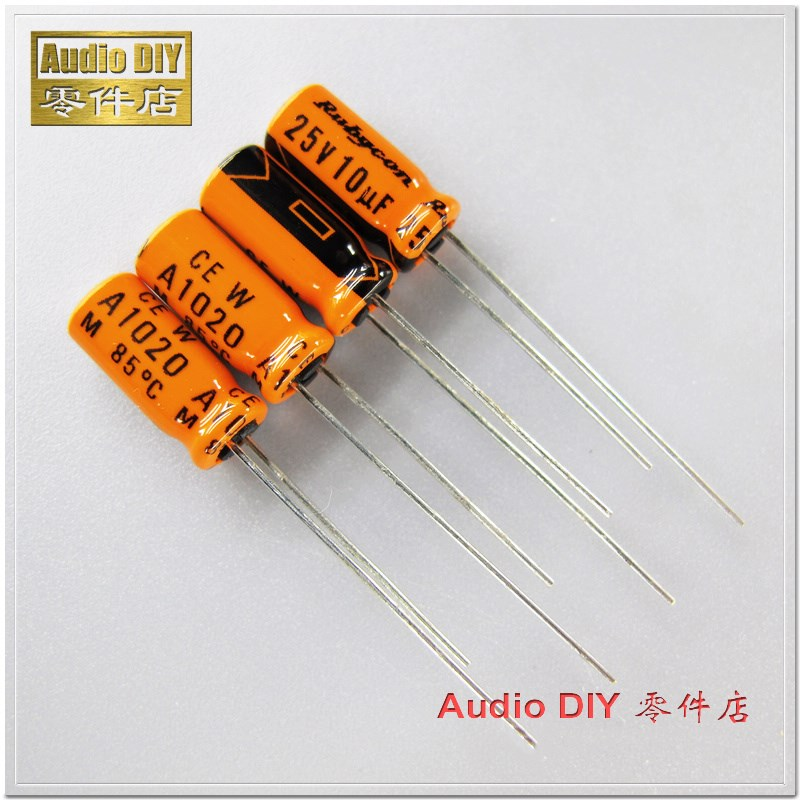 100PCS  1000uF 25Volt Capacitor OLD STOCK FREE SHIPPING
