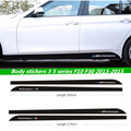 car-styling M performance Side Skirt Stripe Sticker Body Decal for BMW 3 Series F30 320 335 for 5 series F10 M5 525i 520i 535i