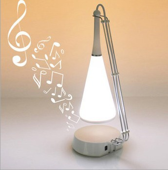 1 piece Touch Sense Desk Lamp with Speaker and Bluetooth Music Night Lamp With Speaker in