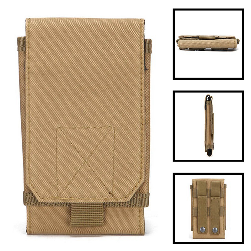 Sub-package Outdoor Camouflage Tactical Pocket  Fanny Phone Pack Package Military Accessories EDC Tool Change Bag