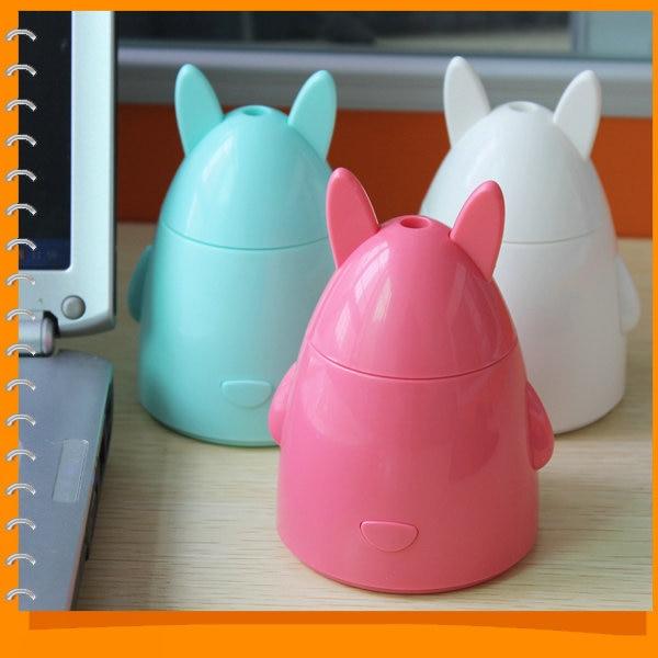 Cute <font><b>Apple</b></font> Rabbit 80ml <font><b>USB</b></font> DC 5V Mini Humidifier <font><b>Air</b></font> <font><b>Purifier</b></font> Mist Maker & Aroma Diffuser Atomizer for Home Room Health Care