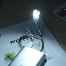Мини USB СВЕТОДИОДНЫЙ светильник SMD5730 3 светодиодный s USB лампа для чтения книг походный светильник гаджет ночной Светильник для ноутбука портативного компьютера