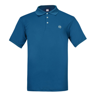 Lesmart Men S Quick Dry Cool Polo Shirt With Short Sleeve Casual Jerseys Slim Fit Solid
