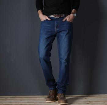 2019 Autumn Thin Top Quality Stretch Jeans For Men Causal Long Pants For Male Free Shipping 2PCS A lot