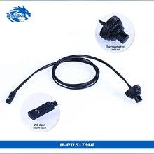 Bykski B-PD5-TMR, датчик измерения температуры вилки, G1/4 аксессуары уплотнительный замок, металл водяного охлаждения фитинг