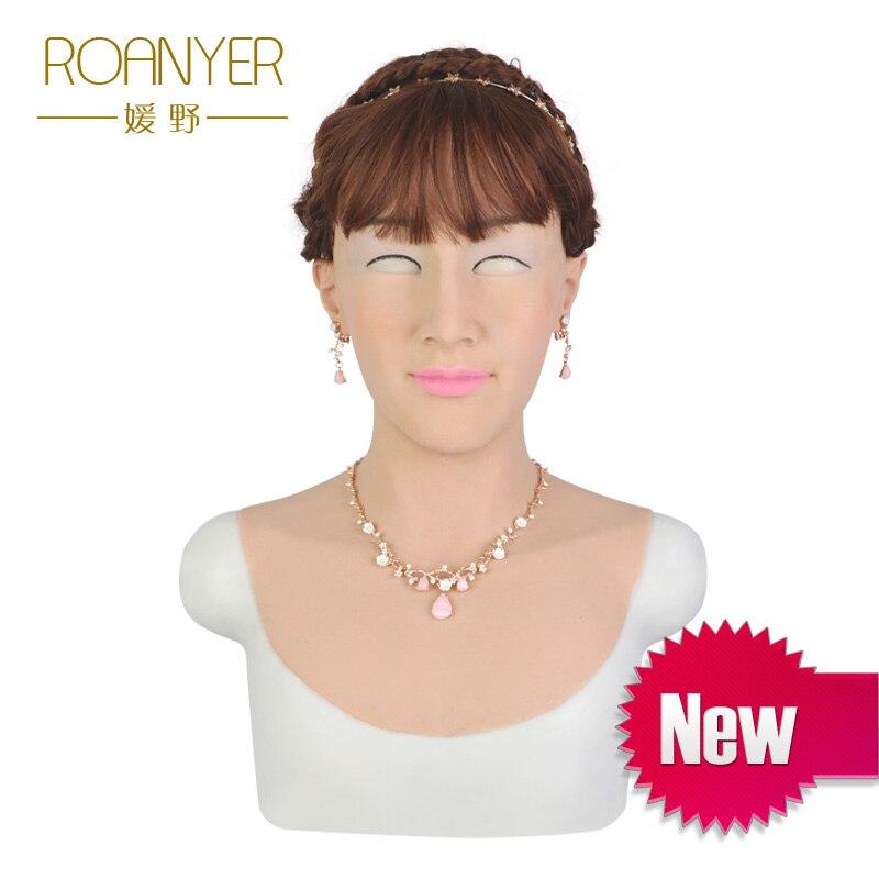 Roanyer Tia realistico sexy realistico del silicone per crossdress cosplay trans masquerade drag queen transgender transexual
