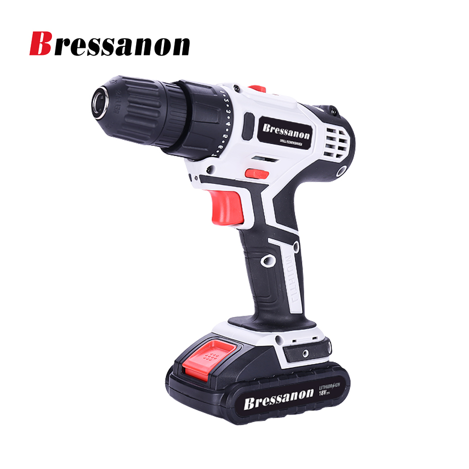 18V 1300 mAh Li-ion Battery  Double Speed DC Electric Drill Lithium Cordless Drill/Screwdriver  Household power tools  цены