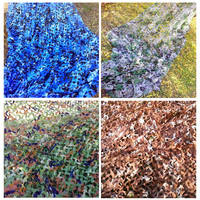 8X8M Camouflage Net Large Size Various Color Military Camo Nets Hunting Sun Shelter Tent Shade