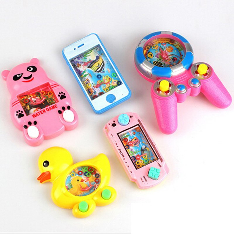 Novelty & Gag Toys Children Water Machine Water Ferrule Game Consoles Classic Handheld Game Machine Parent-child Interactive Antistress Game Toys